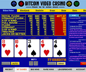 BitcoinVideoCasinoGamingwithBitcoins300x250